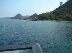 Pulau Cubadak di Kawasan Mandeh